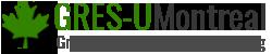 Gres-UMontreal Logo